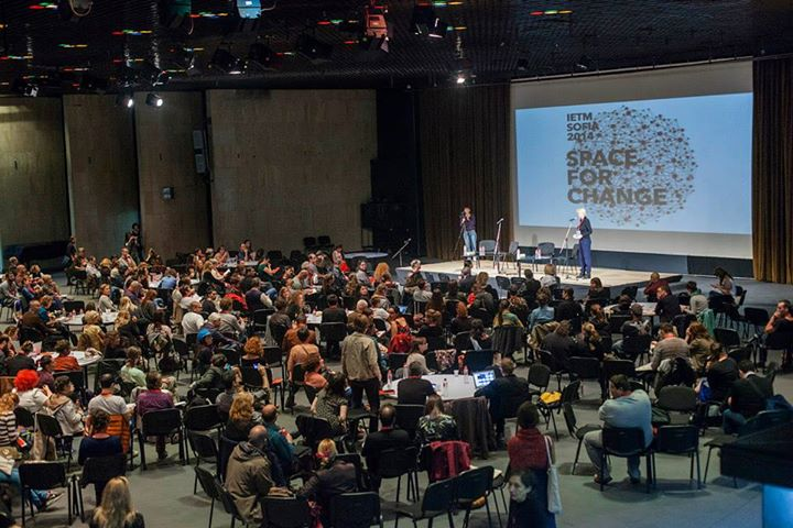 "IETM in Sofia ""Space for Changes"" Oct. 2014. Photo by Michael Novakov. © Goethe Institut"