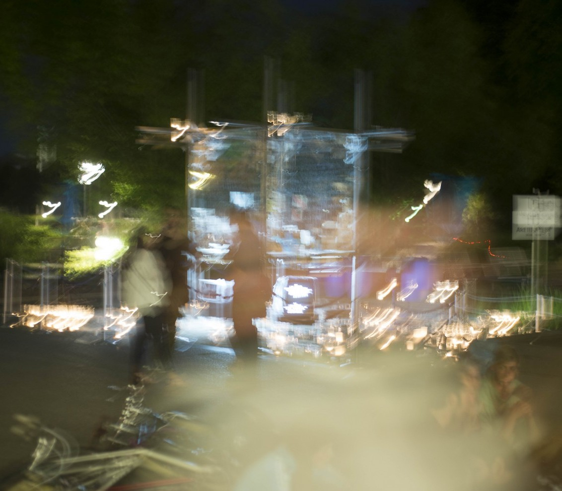 [T] Installation by Marlene Beer and Manja Kuhl.Schauspiel Stuttgart © Jennifer Ressel/U.T.E.