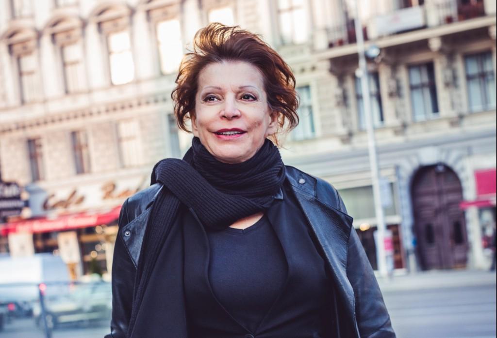Anna Badora, artistic director of the Volkstheater Wien. Photo © www.lupispuma.com