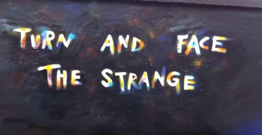 Graffiti turn and face